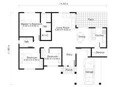 modern one story house plans small 2 storey house plans pinteres