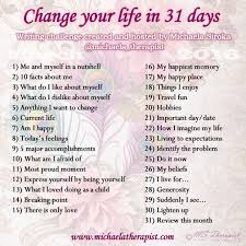 Challenge Rate 31 Day Writing Challenge Ms Therapist