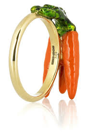carrot ring solange azagury partridge 3 carrot 18 karat gold ring net a