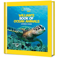 national geographic little kids book of ocean animals personalized