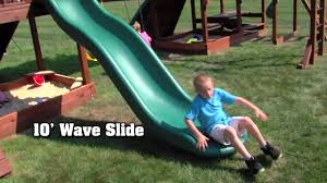 adventure mountain a big backyard play set youtube