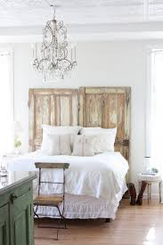 34 diy headboard ideas reclaimed old doors bohemian style