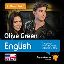 amazon com olive green english course with interactive movie by