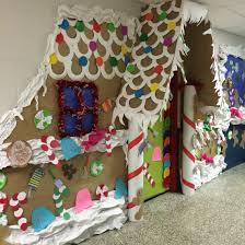 gingerbread door decorating contest bulletin boards pinterest