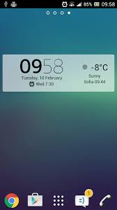 digital clock widget apk digital clock widget xperia 5 1 5 236 apk android