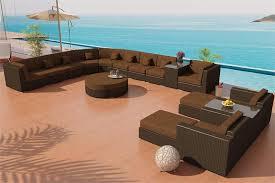 antique sectional sofa bellagio java wicker furniture set 24