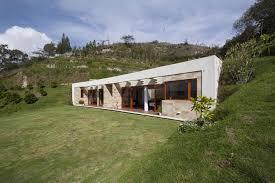 Modern Hill House Designs House Built Into A Hill