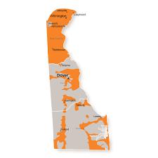 Map Delaware Delaware Energy Providers Ambit Energy