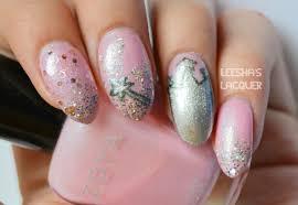 leesha u0027s lacquer glinda the good witch nail art part ii