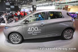 renault zoe electric renault zoe at the iaa 2017 indian autos blog