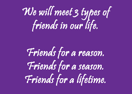 friendship quotes season reason lifetime friendships are they for