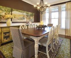 sumptuous parson chairs look sydney shabby chic dining room