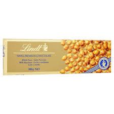lindt gold bar milk u0026 hazelnut 300g from ocado