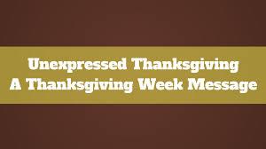 thanksgiving sermon ideas nankin community church