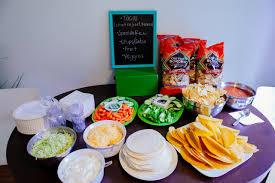 taco bar ideas for baby shower festive taco bar ideas for any