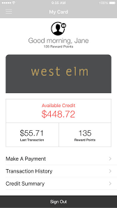 Comenity Pottery Barn Kids West Elm Credit Card Guide