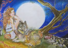 artemis goddess of the moon and hunt by ginqueeen on deviantart