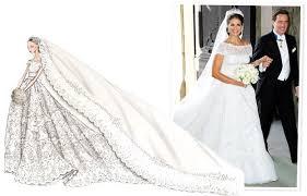 valentino wedding dresses valentino designs princess madeleine of sweden s wedding dress