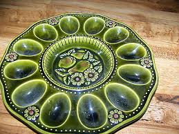 ceramic deviled egg plate egg platters collection on ebay