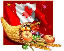 happy canadian thanksgiving to all of my canadian followers
