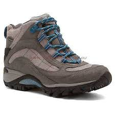 merrell womens boots australia womens boots shoes australia merrell s blue mid boots