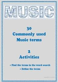 free download word search of music genres good resource to add