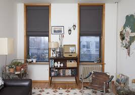 before and after custom window treatments decorating lonny