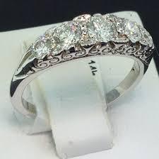 stone rings style images 14k victorian style 5 stone diamond ring exeter jewelers jpg