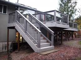 Corner Deck Stairs Design Magnificent Deck Corner Stairs Design Deck Stairs Designs Corner