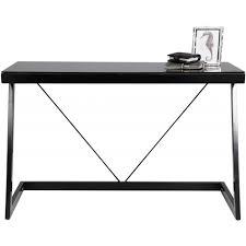Small Computer Desk Tesco Tesco Shoreditch Glass Top Metal Desk Black