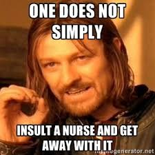 Come And Get It Meme - memes responding to the view s joy behar nurse doctor stethoscope