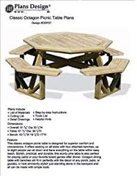 Woodworking Plans For Picnic Tables by Classic Rectangle Picnic Table W Benches Woodworking Plans