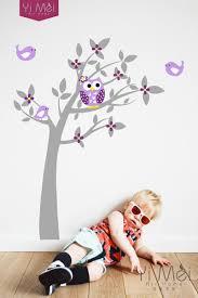 Owl Nursery Wall Decals by Owl Vinyl Tree Wall Sticker Decals Mural Wallpaper Children Kids