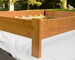 Simple Platform Bed Frame Ambrosia Maple Simple Platform Bed Frame Custom Made Of
