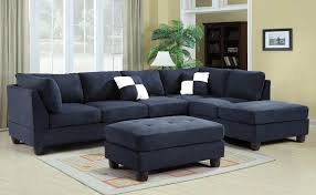 Navy Blue Sectional Sofa Sofa Blue Microfiber Sectional Sofa Microfiber Blue Sectional
