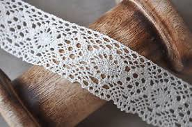 crochet ribbon vintage style wide ivory lace crochet ribbon wedding sewing