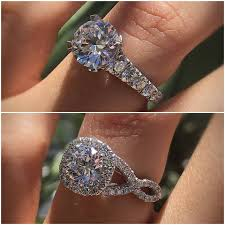 halo engagements rings images Halo or no halo engagement ring that 39 s the question designers jpg