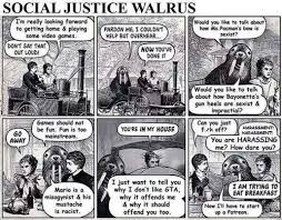 Social Justice Warrior Meme - social justice walrus video games video game memes pokémon go