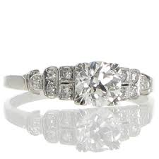196 best art deco diamond engagement rings images on pinterest