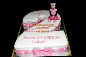 Birthday Cake Delivery 2nd Birthday Cake For Girls Online Cake Delivery Noida Cake Shop