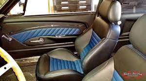 Custom Car Interior Upholstery Frank U0027s Rods Upholstery 1968 Ford Mustang Fastback Custom