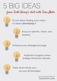 5 big ideas for doing your best work tara mohr big