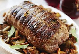 recette de cuisine roti de veau fiche recette rôti de veau aux chignons saq com