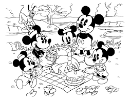baby mickey minnie mouse coloring pages minnie daisy