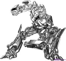 trials transformers coloring pages optimus prime
