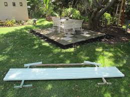 How To Draw A Picnic Table How To Make Display And Growing Benches And Shelves