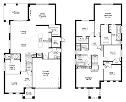 5 bedroom floor plans australia double story house floor plans australia