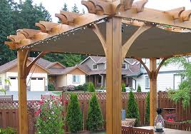 8 X 10 Pergola by Pergola Breeze Retractable Canopy 8x10 Lights Olt