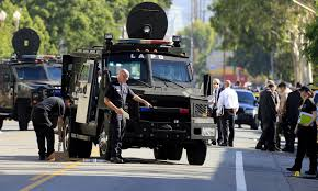 swat vehicles lapd credits armored vehicle for protection in morning shootout