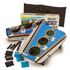 bag toss 3 hole folding backyard game